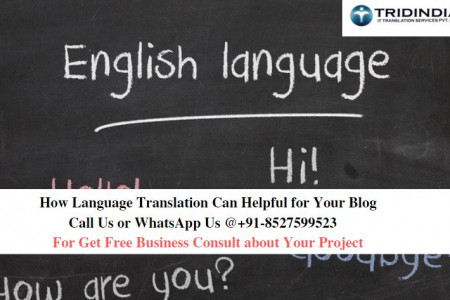 How Language Translation Can Helpful for Your Blog Infographic