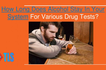 How Long Does Alcohol Stay in Your System for Various Drug Tests Infographic