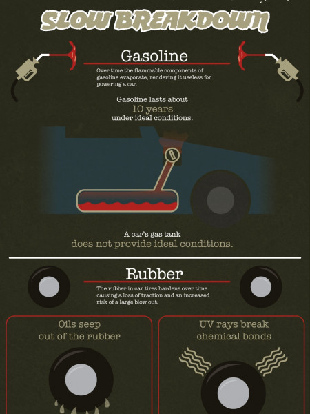 How Long Would Your Vehicle Last Without Service? Infographic