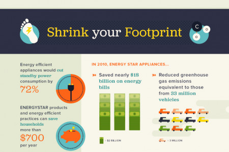 How Low Can You Go: Tips on Lowering Your Home's Carbon Footprint Infographic