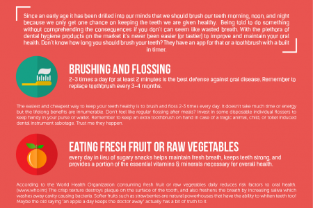 How Maintaining Your Dental Health Infographic