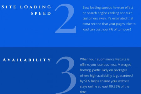 How Managed Dedicated Hosting Is Helpful For ECommerce Business? Infographic