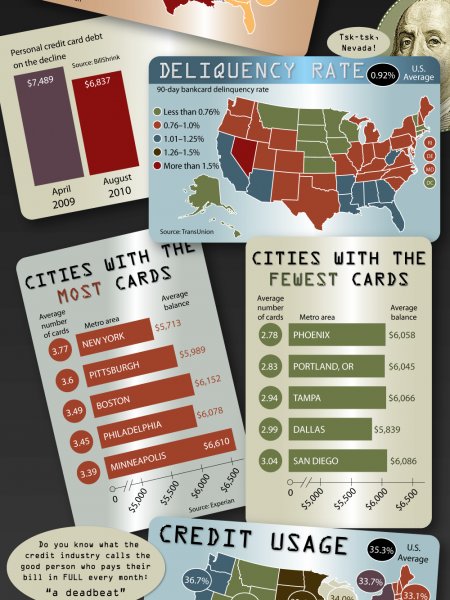 How Many Credit Cards Are in Your Wallet? Infographic