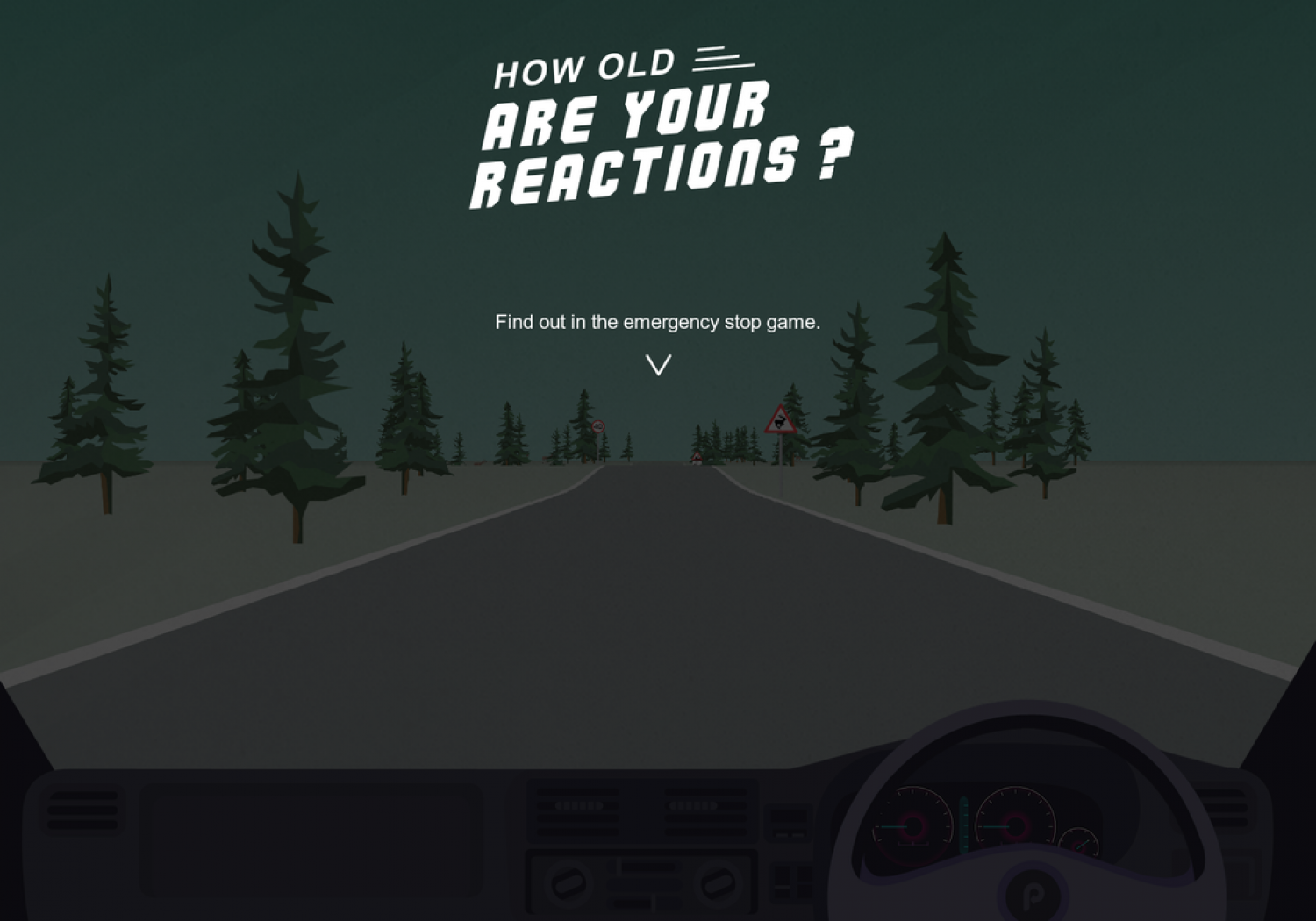 How Old Are Your Reactions? Infographic