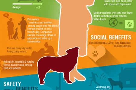 How Pets Keep Seniors Healthier & Happier Infographic