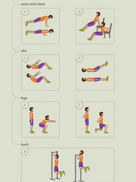 How Physical Exercises Can Help You To Fight The Work Depression Infographic