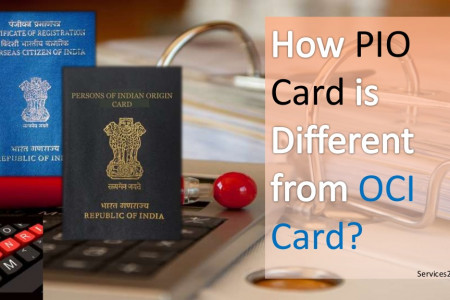 How PIO Card is Different from OCI Card? Infographic