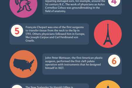 How plastic surgery has changed over the history Infographic