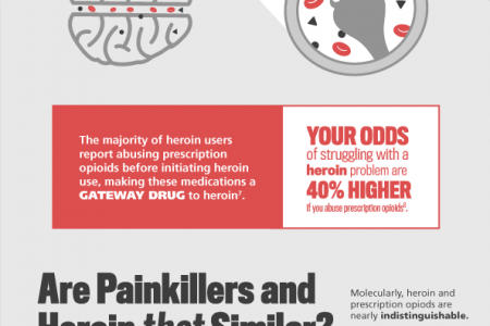 How Similar is Heroin to Prescription Opioids? Infographic