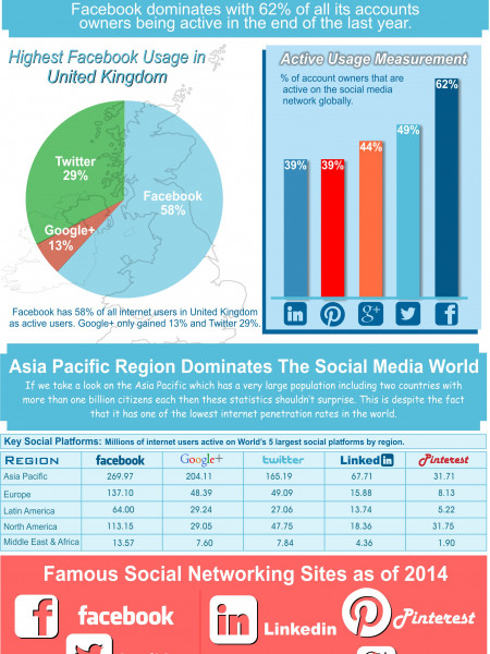 How Social Media Ingredients Impact Online Business Infographic