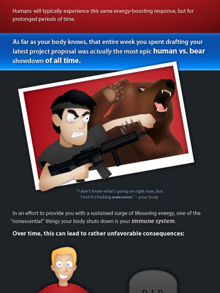 How Stress is Killing You Infographic