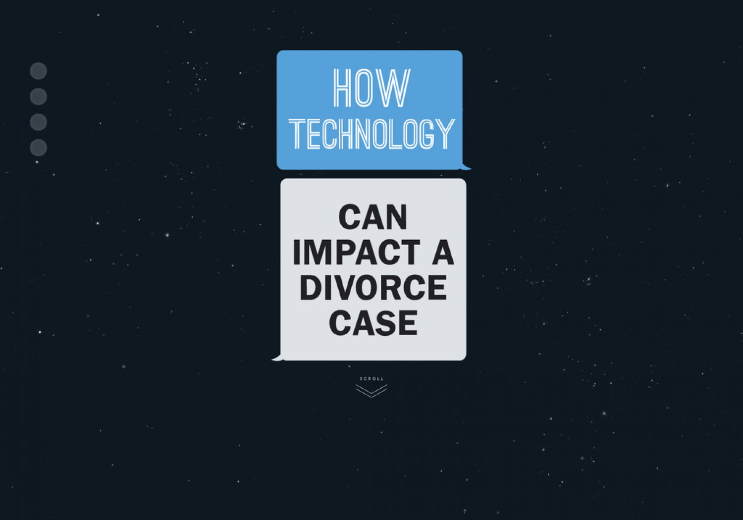 How Technology Can Impact a Divorce Case Infographic
