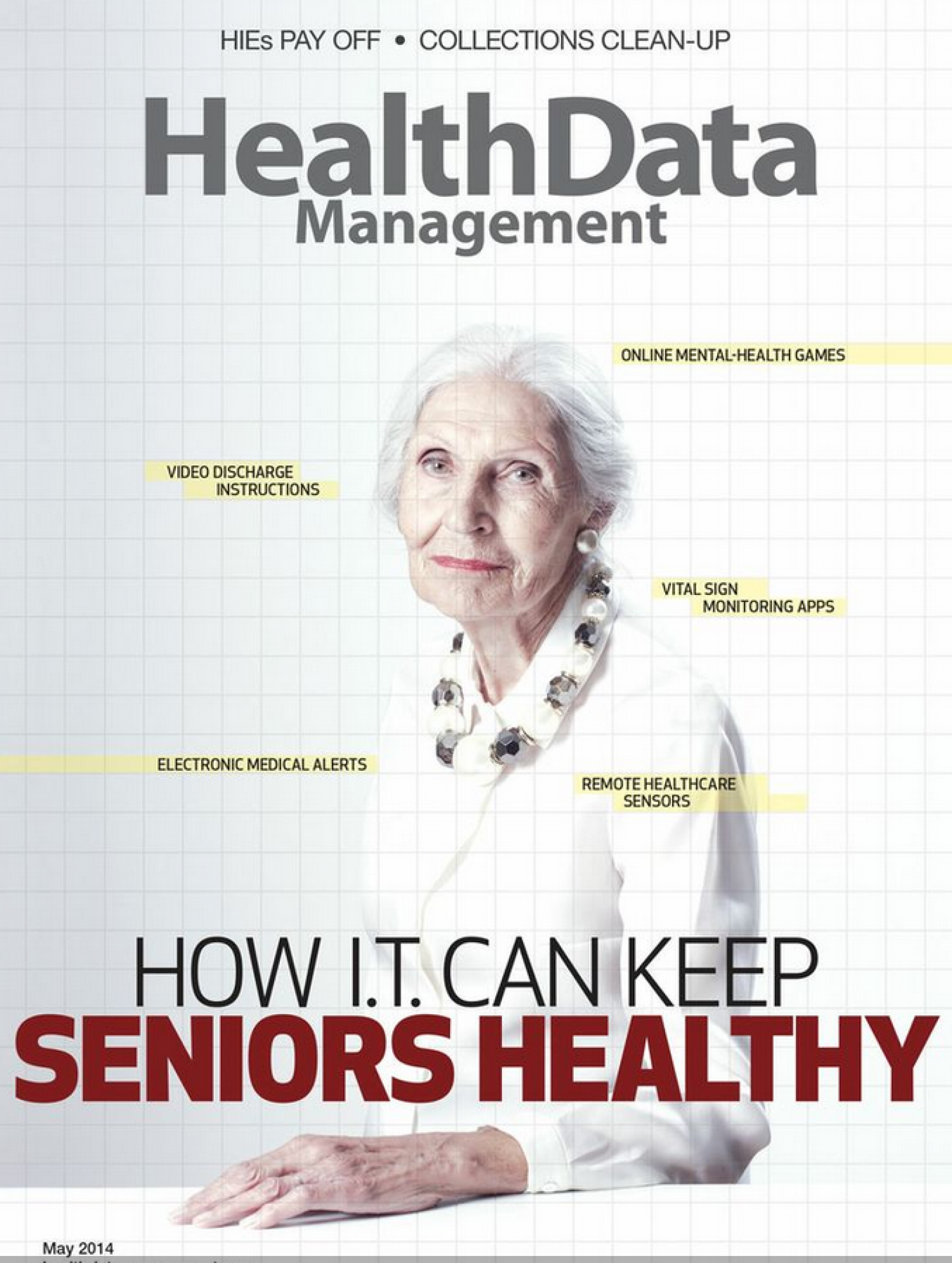 How Technology is Improving Senior Health & Eldercare Infographic