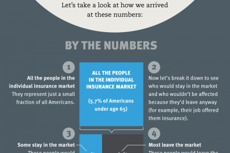 How the ACA affects people who buy insurance on their own Infographic