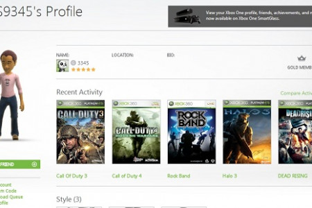 How to Add, Remove or Move an Xbox Profile on Xbox 360 Infographic
