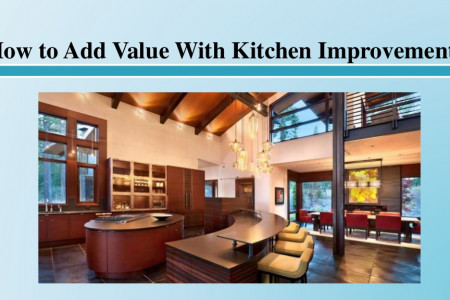 How to Add Value With Kitchen Improvements Infographic