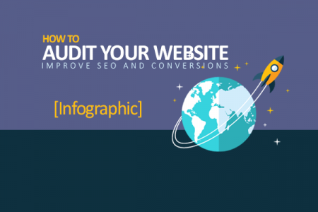 How to Audit Your Website Infographic