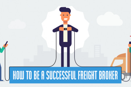 How To Be A Successful Freight Broker  Infographic