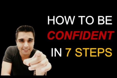 How to be confident in 7 steps! Infographic