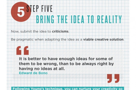 How to Be More Creative [Infographic] Infographic