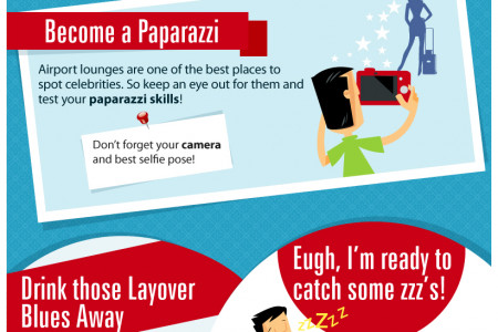 How to Beat the Airport Layover Blues Infographic