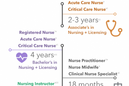 How to Become a Nurse Infographic