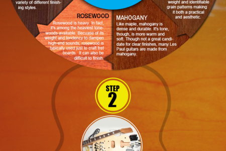 HOW TO BUILD A GUITAR IN 3 EASY STEPS Infographic