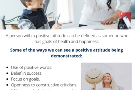 How to Build Your Children Positive Attitude  Infographic