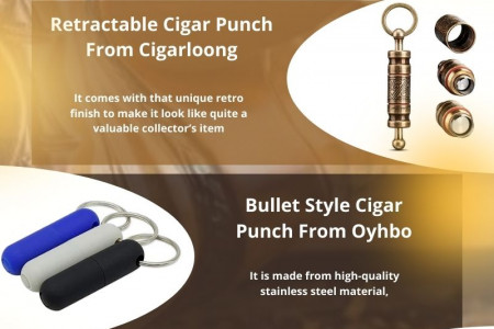 How To Buy A Good Cigar Punch Cutter   For Cigar Smokers Infographic