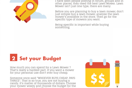 How to Buy the Best Lawn Mower in 3 steps Infographic