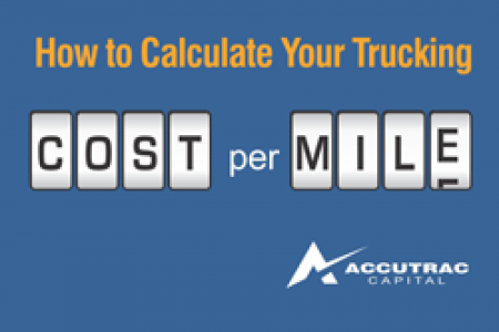How to Calculate Your Trucking Company's Cost-per-Mile Infographic