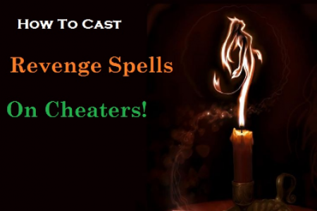 How to Cast Revenge Spells For Cheaters or On Ex Lover Infographic