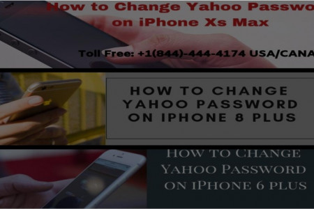 How to change Yahoo Password On iPhone Infographic