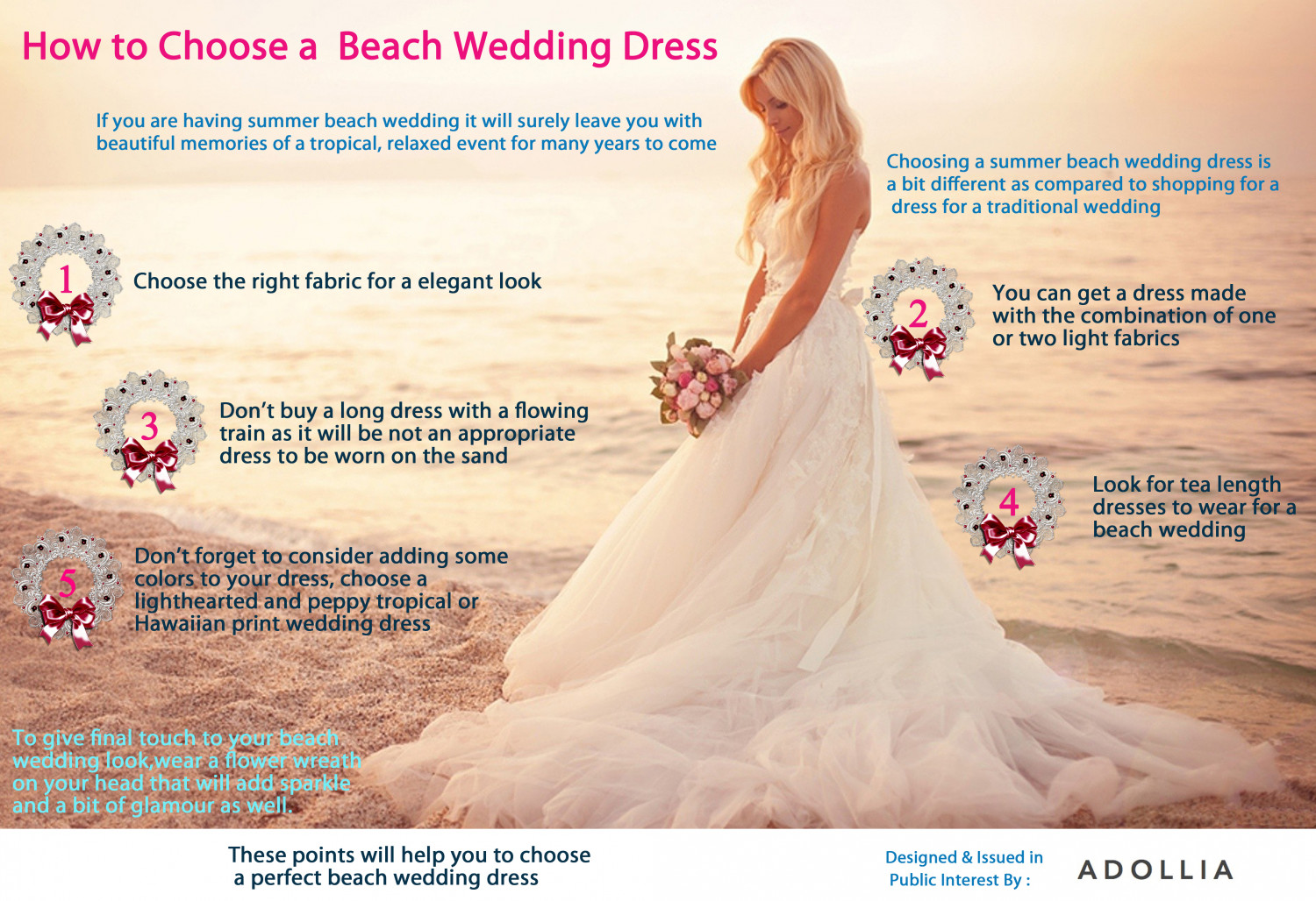 How to choose a beach wedding dress for How to choose a wedding dress