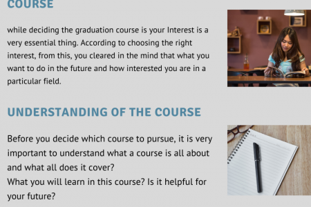 How to choose a degree after 12th effectively Infographic