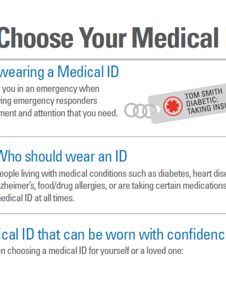 How to Choose a Medical ID  Infographic