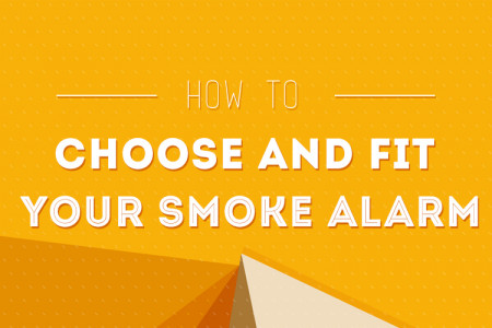 How To Choose And Fit Your Smoke Alarm Infographic