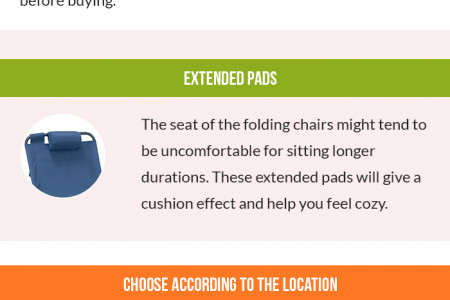 How to Choose Folding Chairs for Camping Infographic