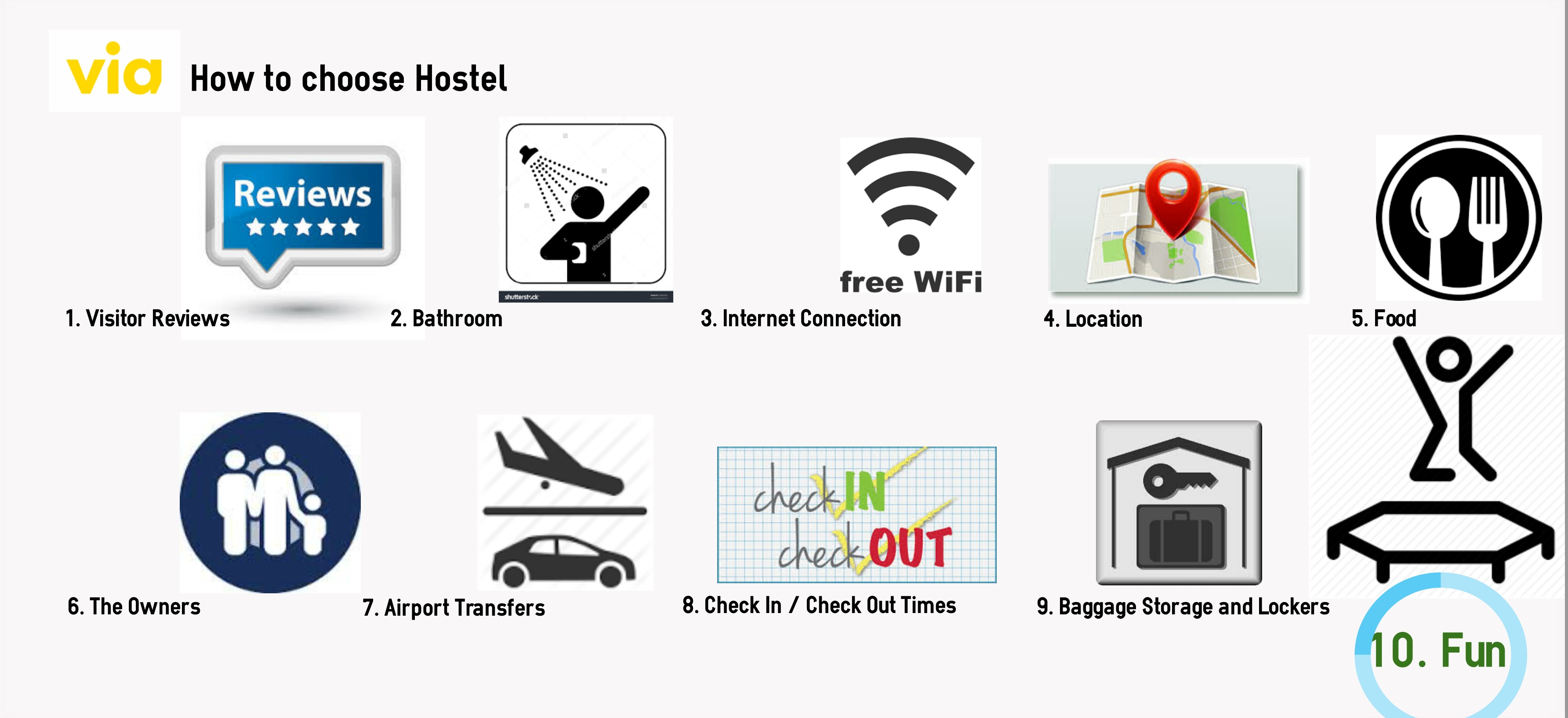 How to choose Hostel
