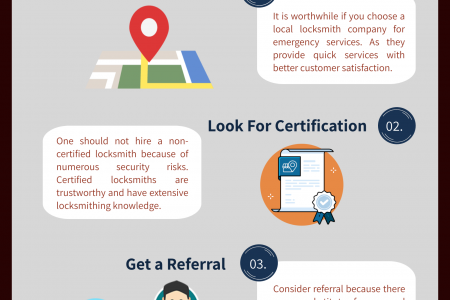 How To Choose Right Locksmith In Emergency Infographic