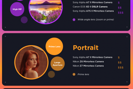 How to choose the best camera for your style Infographic