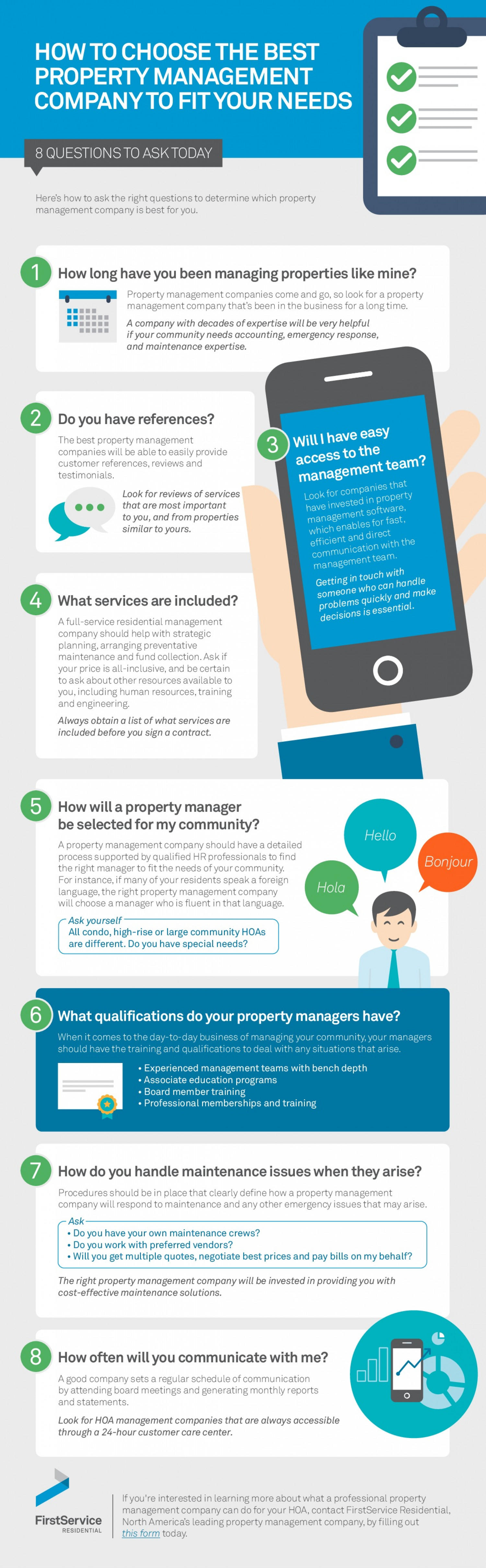 How to Choose the Best Property Management Company to Fit Your Needs Infographic