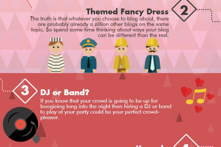 How to choose the right entertainment for your party Infographic