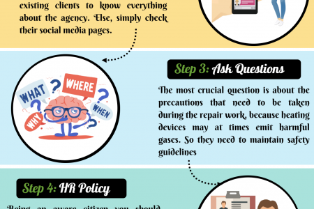 How to Choose the Right Heating Repair Provider? Infographic