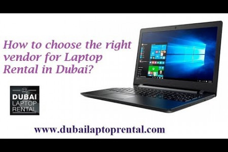 How to choose the right vendor for Laptop Rental in Dubai ? Infographic