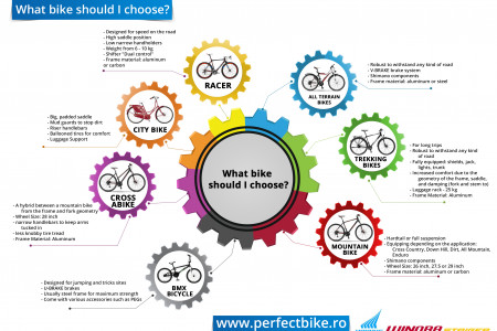 How to choose your bike Infographic