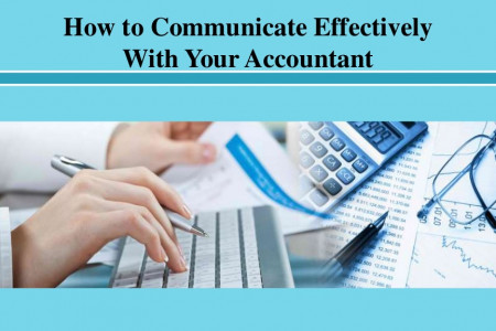 How to Communicate Effectively With Your Accountant Infographic