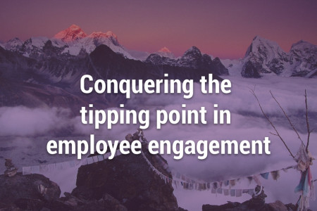 How to Conquer the Tipping Point in Employee Engagement Infographic