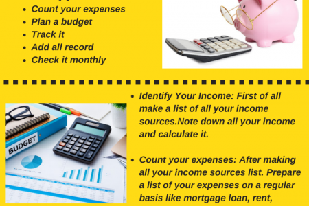 How to Create a Monthly Budget Infographic
