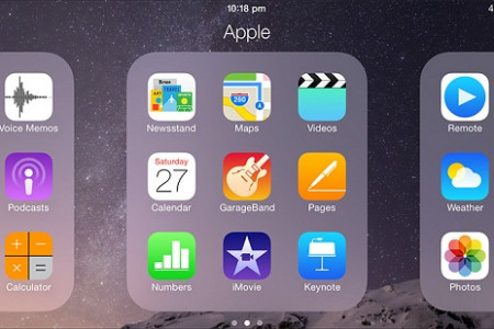 How to Create Folders to Organize iPhone Apps Infographic